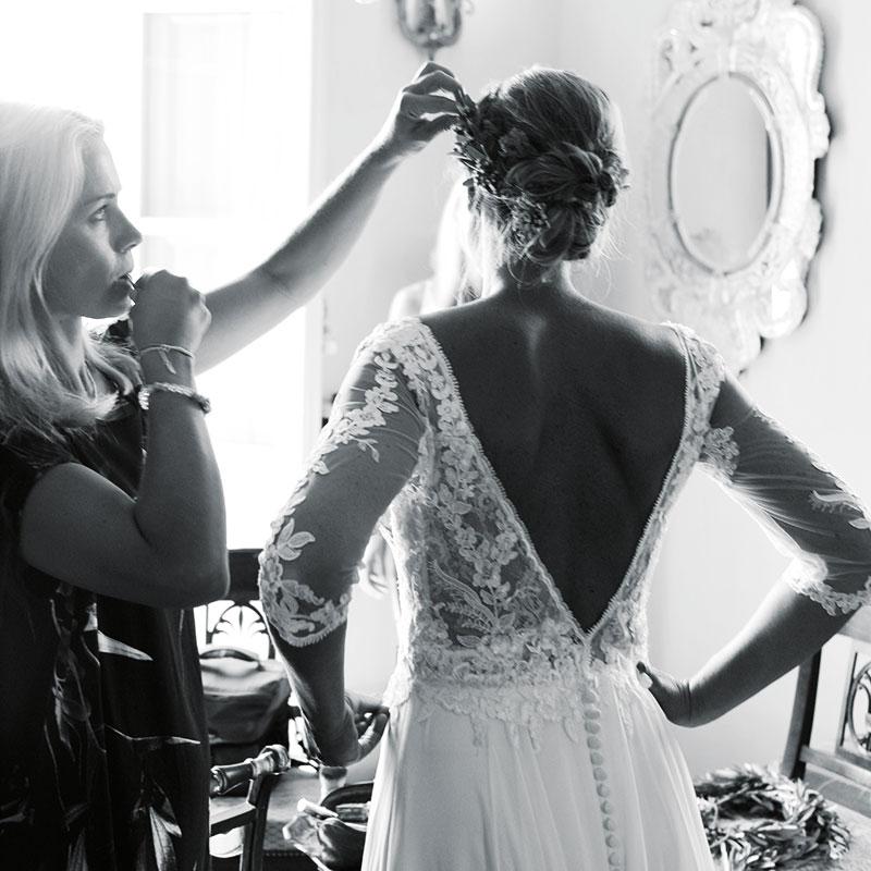 Colletto Villas Bride Getting Ready