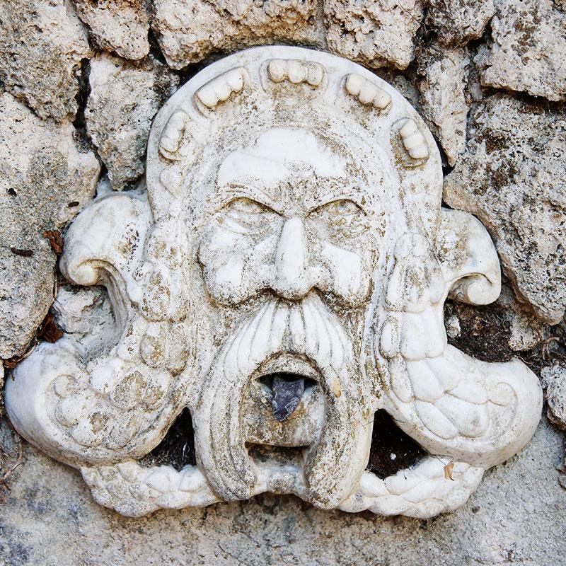 Colletto villas wall art
