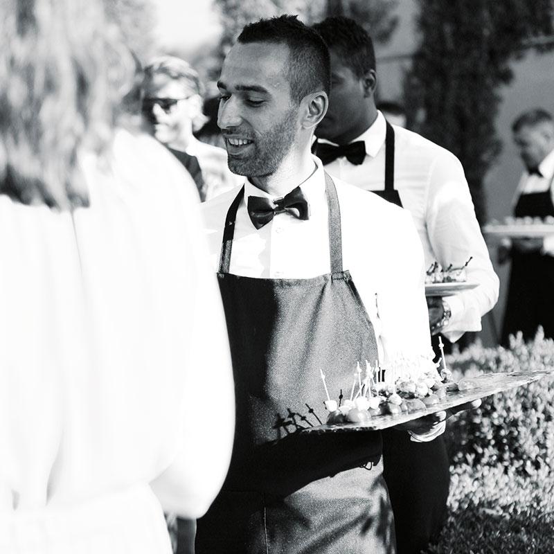 Colletto Villas Waiter
