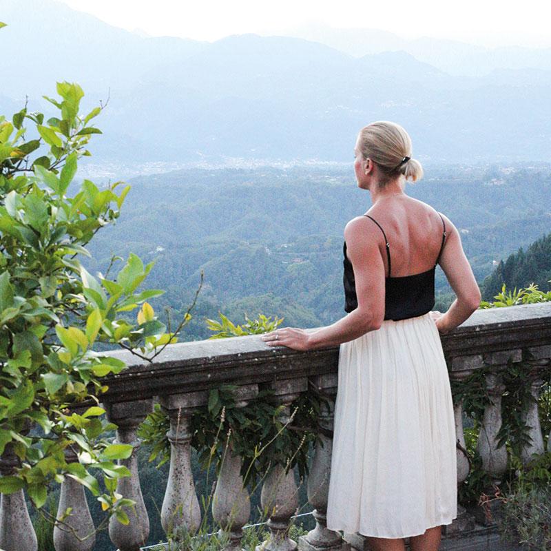 Colletto villas enjoying the view